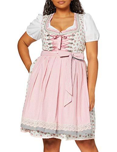 Stockerpoint Damen Dirndl Kalina, Mehrfarbig (Taupe), 38