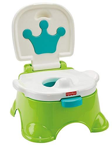 Fisher-Price DLT00 - Lerntöpfchen Toilettentrainer mit Fußbank