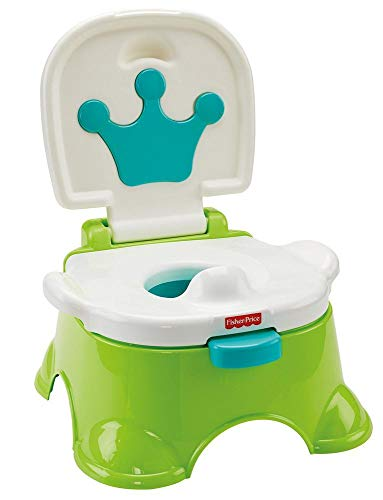 Fisher-Price Baby Gear DLT00 - Vasino-Sgabellino del Re, Multicolore
