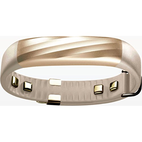 Jawbone UP3 Heart Rate, Activity + Sleep Tracker - Sand Twist, Gold