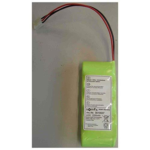 Somfy 9019537 - Akkupaket für elektrische Rollladen Gurtwickler NiMH 6,0V/2200mAh