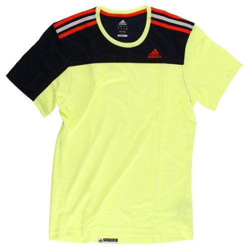 Adidas X19544 T-shirt à manches courtes Jaune Taille S
