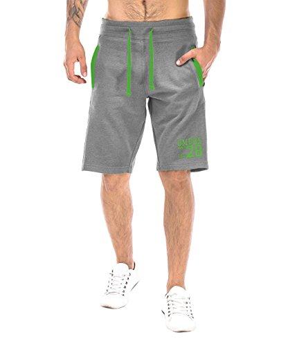 BetterStylz FloridaBZ Korte joggingbroek sweatshort bermuda contrast fitnessbroek diverse Kleuren (S-XXL)