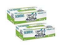 スコッティ 片手でらくらくトイレットペーパー 300枚(100組)x2個セット