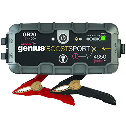 NOCO Boost Sport GB20 400 Amperios 12V UltraSafe Litio
