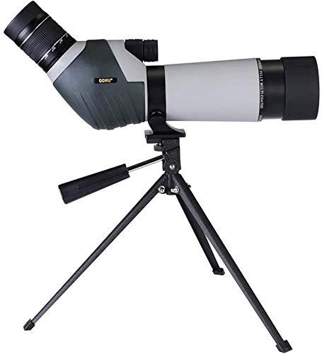 Reflector profesional Binoculares, alta potencia y hd monocular, 20-60x60 Telescopio de observación impermeable con llena de nitrógeno al aire libre para observación de aves CAMPING CAMINACIÓN CABACID
