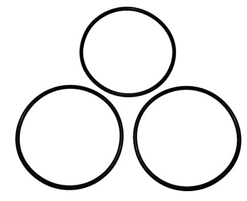 Captain O-Ring - (3 Pack) Replacement O-Rings for Whirlpool WHKF-DWHV, WHKF-DWH & WHKF-DUF Water Filter Housing