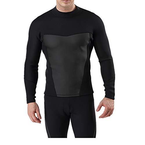 ZzheHou Traje De Neopreno para Hombre Traje de Neopreno para Hombre Traje de Surf de 3 mm Completo para Surf, Snorkel, Buceo, Conveniente para Ponerse (Size : L)
