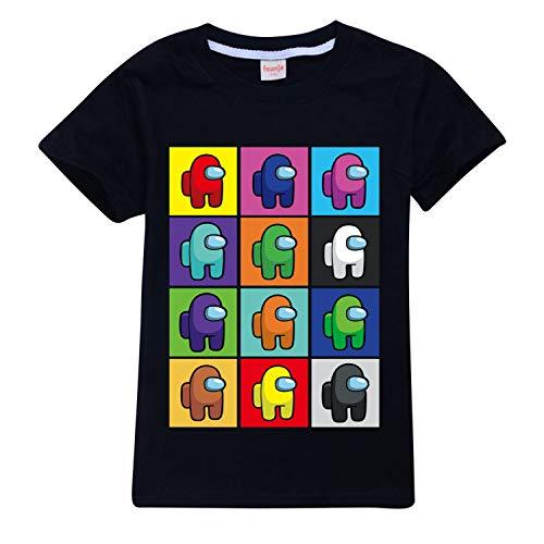 Among US - Camiseta de manga corta para niños y niñas, de...