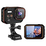 4K WiFi Sports Action Camera Ultra HD Waterproof DV Camcorder 16MP 170 Degree Wide Angle Underwater Camera Helmet Video Recording