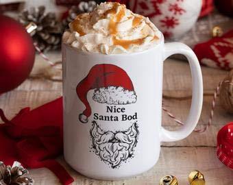 Taza de Papá Noel, taza de Papá Noel, taza de Navidad, taza de Navidad, taza de Navidad, para él, regalo de Navidad, taza de invierno