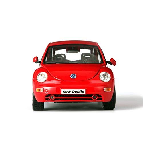 Yppss Modelo del Coche / 01:18 Simulación Presofundido Aleación/for los Modelos Volkswagen Beetle/Coche de Juguete/Adornos Eternal