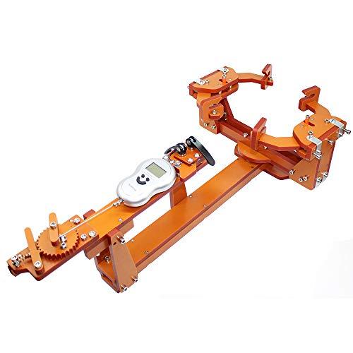 ウィンチ型パーソナルDIYバドミントンラケットストリングマシン引っ張るスレッディングマシンワイヤーストレッチャー60 LB以上 DIY製品は商用利用には適していません (タイプA)