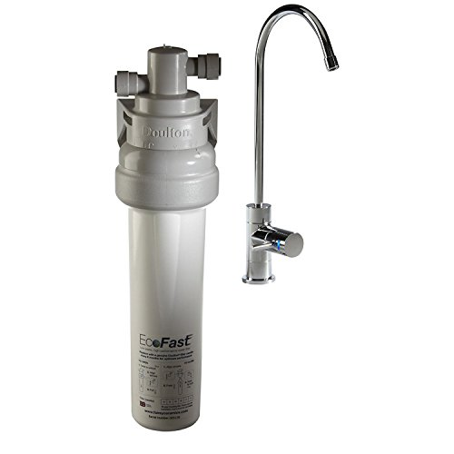 DOULTON - Purificateur d'eau DOUTLON HIP sous évier avec cartouche Ultracarb + raccordement sur circuit d'eau et robinet eau pure
