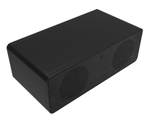 ECSEM Portable Wireless Speaker Induction Magic Near Field Touch Amplifier Sound Box Speaker for iPhone 6 Plus 5 5S 4s HTC Samsung Galaxy S6 S5 Android Phones, built-in lithium polymer battery gives up to 30 hours of play time (Black)