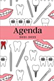 Agenda 2021-2022: Regalo di Natale, Nuovo Anno per Dentista, Studente Odontoiatrico, Calendario 21- 22, Agenda Settimanale e Mensile