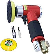 2 3-inch Mini Orbital Sander Air Dual Action Sander Air Polisher Super Smooth and Swirl Freely for Auto Body Work