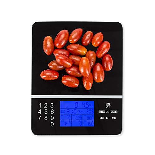 Escala De Cocina Digital ProteccióN Del Medio Ambiente DoméStico Escala De NutricióN PortáTil Escala ElectróNica Multifuncional 5kg