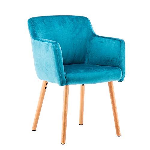 Marca Amazon -Movian Vardar - Silla de comedor, azul