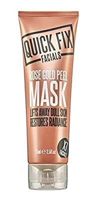 Quick Fix Facials Rose Gold Peel Face Mask, 75 ml