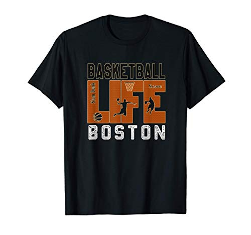 Vintage Best boston Basketball life For the Celtics lovers T-Shirt