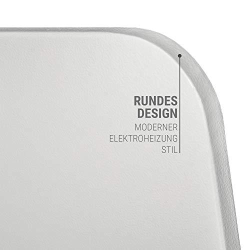 VASNER Citara M-Plus Design Infrarot-Heizung 900 Watt Metall weiß re Ecken 120x60cm TÜV kaufen  Bild 1*