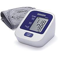 OMRON M2 BASIC Tensiómetro de Brazo digital, Blanco y Azul