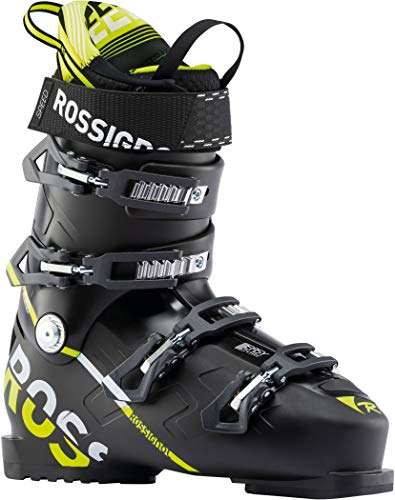 Rossignol - Chaussures De Ski Speed 100 - Black Yello Homme - Homme - Taille 25.5 - Noir