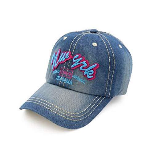 Casquette de BaseballChapeau Cap Mme Letters Cowboy Baseball Hat Cap Leisure Outdoor Climbing Hat Sanpback Caps