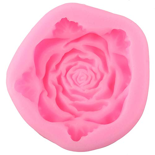Camff bakvorm, rozen, bloemen, bladeren, siliconen, voor bruiloften, cupcakes, toppers, DIY, fondant, taartdecoratie, gereedschap, snoepjes, chocolade, rubberpasta
