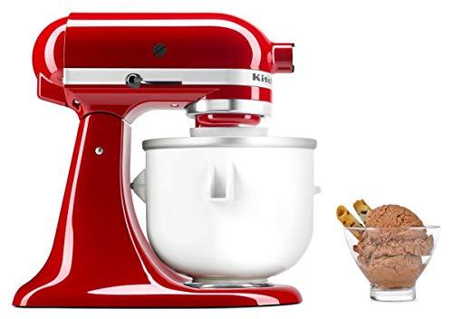 KitchenAid Speiseeismaschine 5KICA0WH, Zubehör für die Küchenmaschine und herrlich cremiges Eis