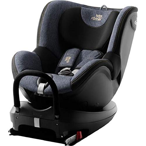 Britax Römer Reboarder Kindersitz 0 - 4 Jahre I 0 - 18 kg I DUALFIX 2 R Autositz Drehbar Isofix Gruppe 0+/1 | Blue Marble