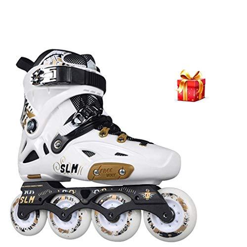 Taoke Inline-Skates, Herren Professionelle Einreihige Skating-Schuhe, Damen Inline Skates, Anfänger Roller Skates (Farbe: # 1, Größe: 40 EU/US 7.5 / UK 6.5 / JP 25cm) dongdong