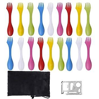 Best plastic spoon fork knife combo Reviews