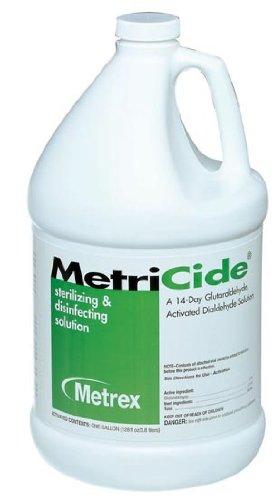 Metrex 10-1400 MetriCide High-Level Disinfectant/Sterilant, 1 gal Capacity
