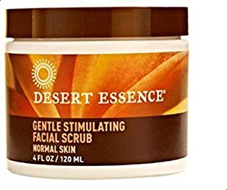 Desert Essence - Gentle Stimulating Facial Scrub - 4 oz.