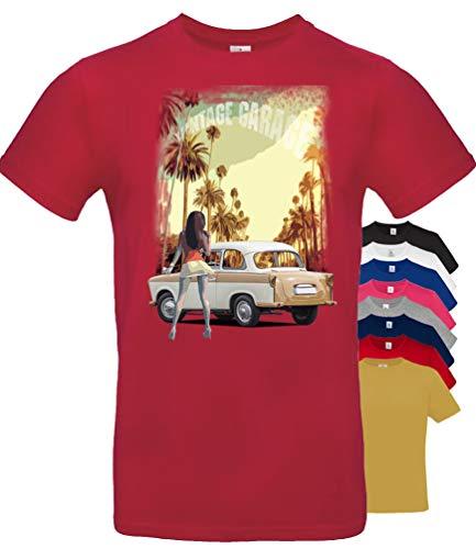 BuyPics4U T-Shirt mit Motiv Trabant Tr18 100% Baumwolle für Herren Damen Kinder viele Farben