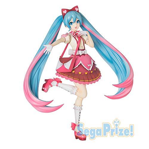 "Sega Project Hatsune Miku Series Super Premium Action Figure Ribbon Heart, 8.6"""