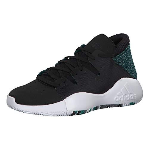 Adidas Pro Vision J, Zapatillas de Baloncesto para Hombre, Multicolor (Negbás/Ftwbla/Veract 000), 38 2/3 EU