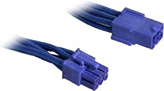 BitFenix 45cm 6-Pin PCIe Extension Cable - Sleeved Blue/Blue
