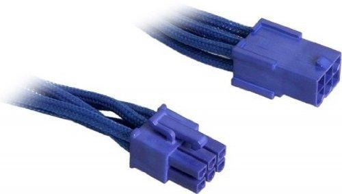 BitFenix 6-pins PCIe verlengkabel 45cm - Mouwblauw/Blauw
