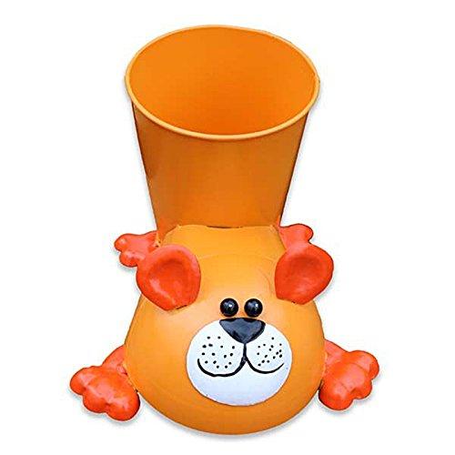 Pot/Pot/Pot de fleurs/fleurs Ours Orange