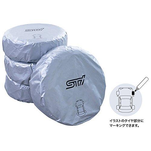SUBARU/スバル STI【マーカー付きタイヤカバー(1枚単品) Lサイズ】STSG13100033