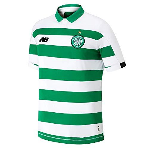 New Balance Kinder Trikot Celtic FC 2019/20 Home Junior Ss ohne Sponsor S/s Top S Home