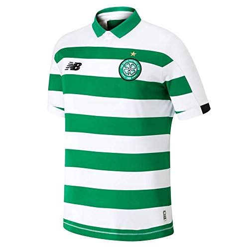 New Balance Youth Celtic Football Home Junior Jersey, Home, LB