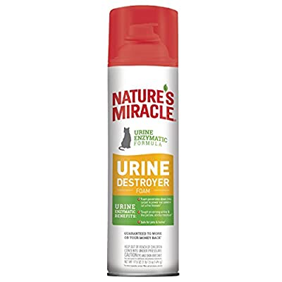 Nature's Miracle Nm Cat Urine Destroyer Foam, 17.5 oz Can