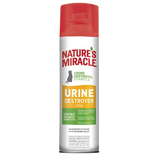 Nature's Miracle Pet Stain and Odor Remover Foam Aerosol Spray