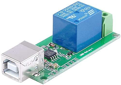 MHUI SRD-05VDC-SL-C 1-Wege-5V Relaisteil Freie Treiber USB-Steuerschalter PC intelligente Steuerung