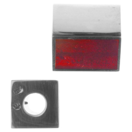 InCollections 0940200090580 - Collar Unisex de Plata de Ley con ámbar