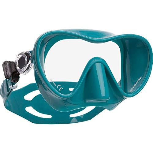 SCUBAPRO Trinidad 3 Einglas Tauchmaske Schnorchelmaske Taucherbrille (Turquoise)